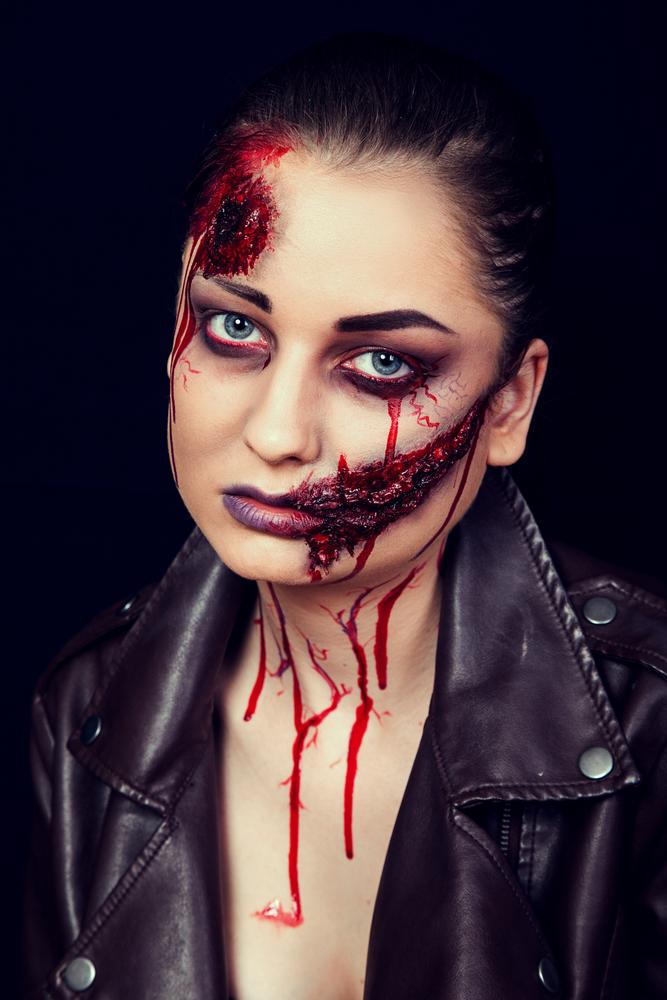 Trucco di Halloween 2019: sangue e ferite finte fai da te ...